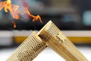 Olympic Torch - courtesy London 2012 (LOCOG)