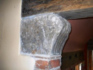 Reused stone found on farm in 1970's