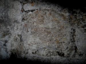 Shaft in cellar under E wing