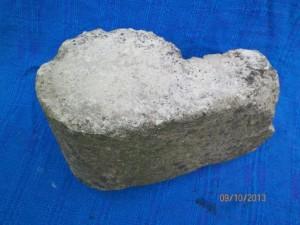 U 6.1.1 Photo of whistle stone on display