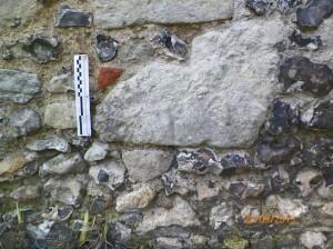 Shaft segment to abut doorway