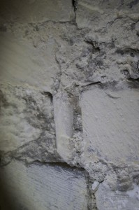 Ashlar with roll moulding
