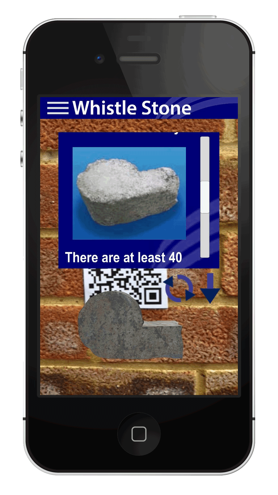 Hyde900 finding the stones exhibition bringing hyde for Picture on wall app