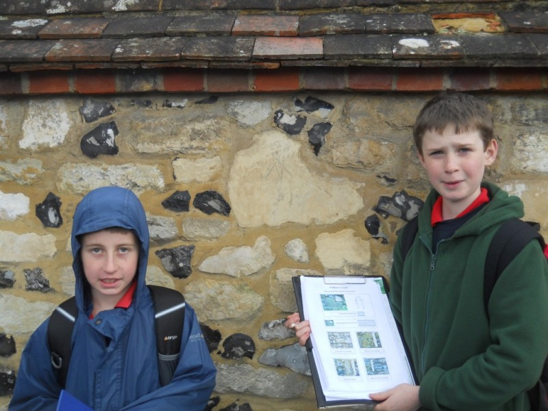 Two pupils from St. Bede School, Thomas Agombar and Ezra Holliday, made an astonishing discovery